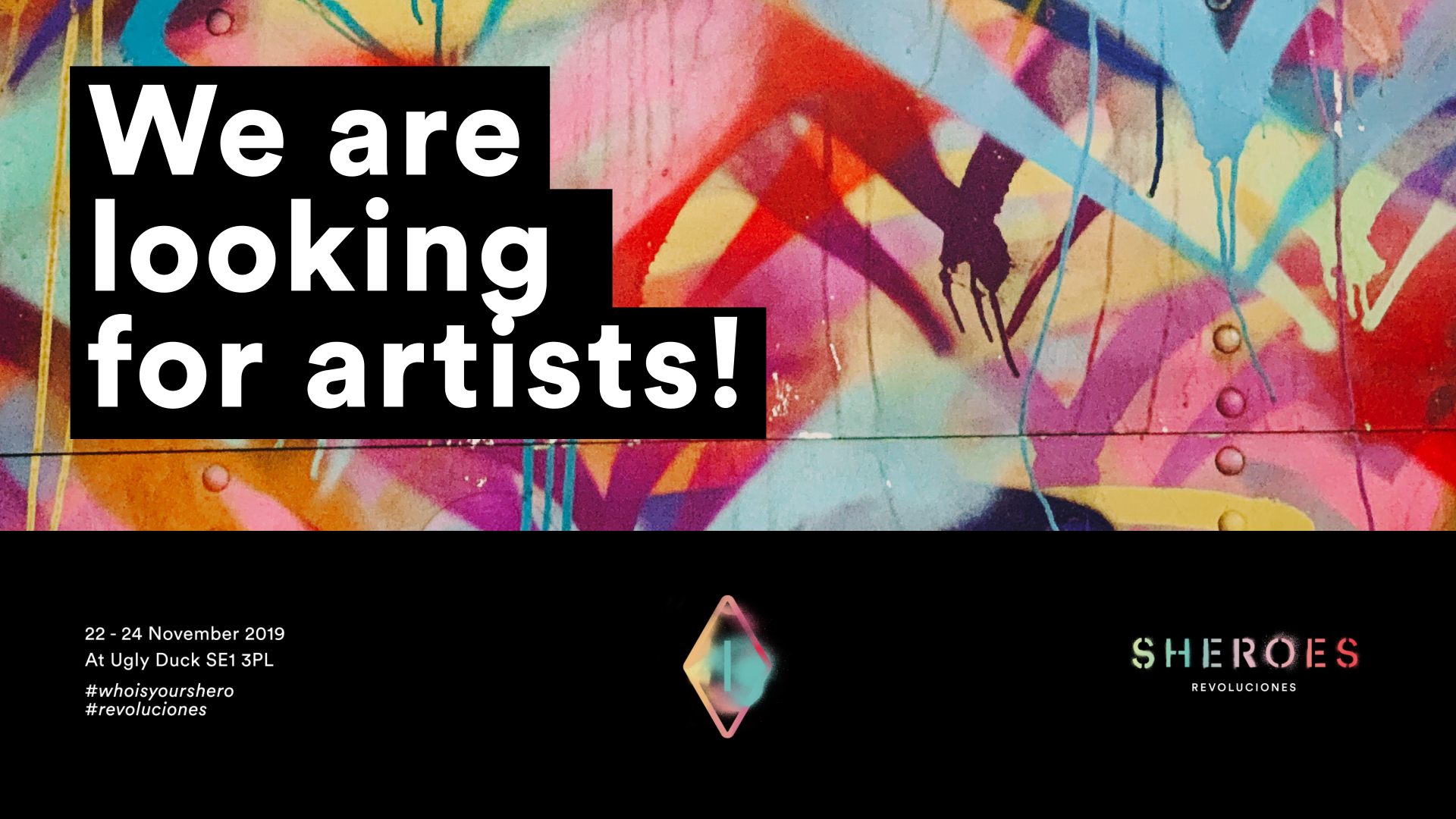 Sheroes artist Call out 2019