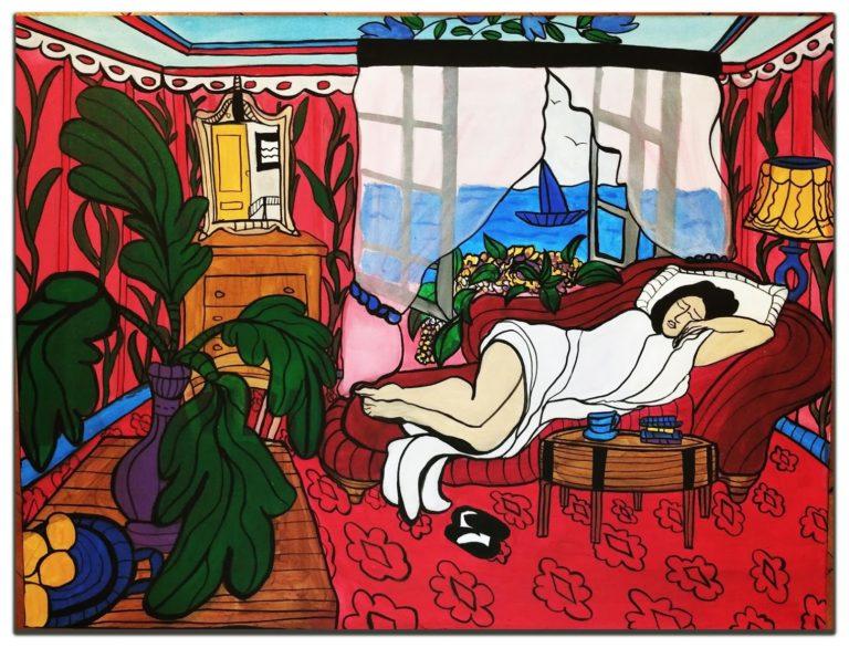 Acrylic on canvas | 80cmx60cm | £150