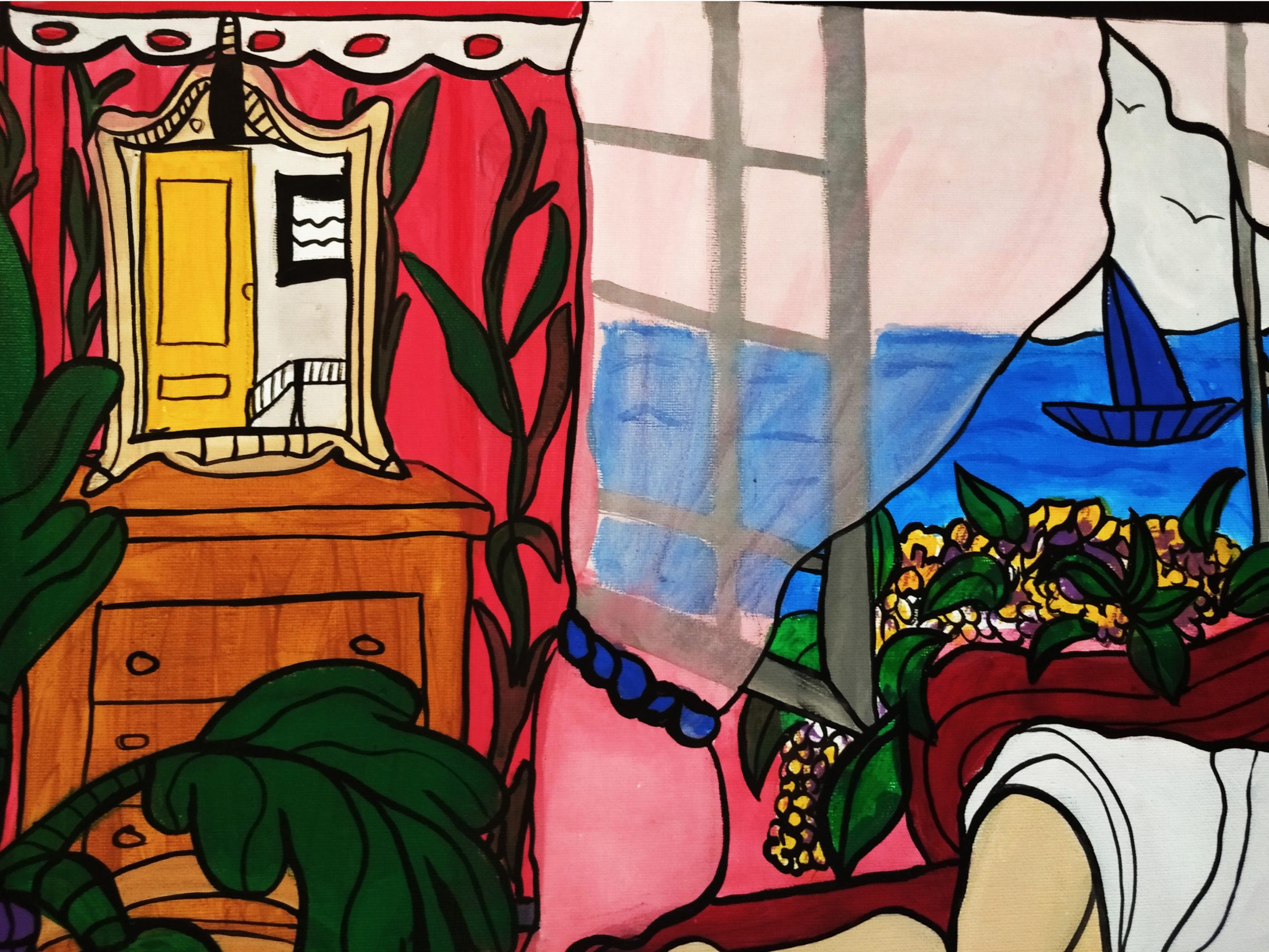 Acrylic on canvas | 80cmx60cm | £ TBC